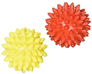 Energy Ball SHARP Pointed for Hand / Foot Acupressure Massager Set of 2 Pcs by ACS