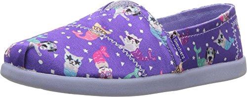 Skechers Kids Womens Solestice 85288L (Little Kid/Big Kid) Purple/Multi 4 Big Kid M