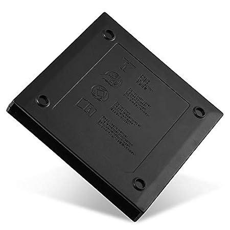 Negro Carcasa Externa Duradera portátil USB 2.0 Delgada para ...
