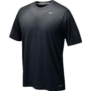 Nike Men's Legend Short Sleeve Tee, Black, M