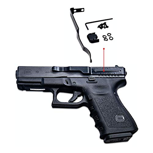 Glock Large Frame Clipdraw Belt Clip for Concealed Carry Fits Models 20, 21, 21SF, 29, 30, 30SF, 37, 38, 39