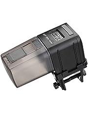 Focuspet Distributeur Automatique de Nourriture pour Poissons, Automatique Numérique Poissons Automatique Multifonctionnel pour Aquarium avec Ecran LCD et Orientable Contrôle de Portion pour Poisson