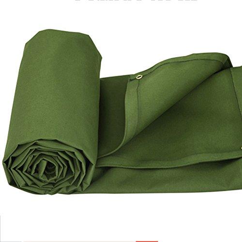 Wheel Cover Heavy Canvas Duty (CHAOXIANG Tarpaulin Waterproof Heavy Duty Rainproof Cloth Sunscreen Linoleum Breathable Wear Resistant Shade Cloth Canvas, 620G/㎡, 10 Size (Color : Strip wheel, Size : 3×3m))