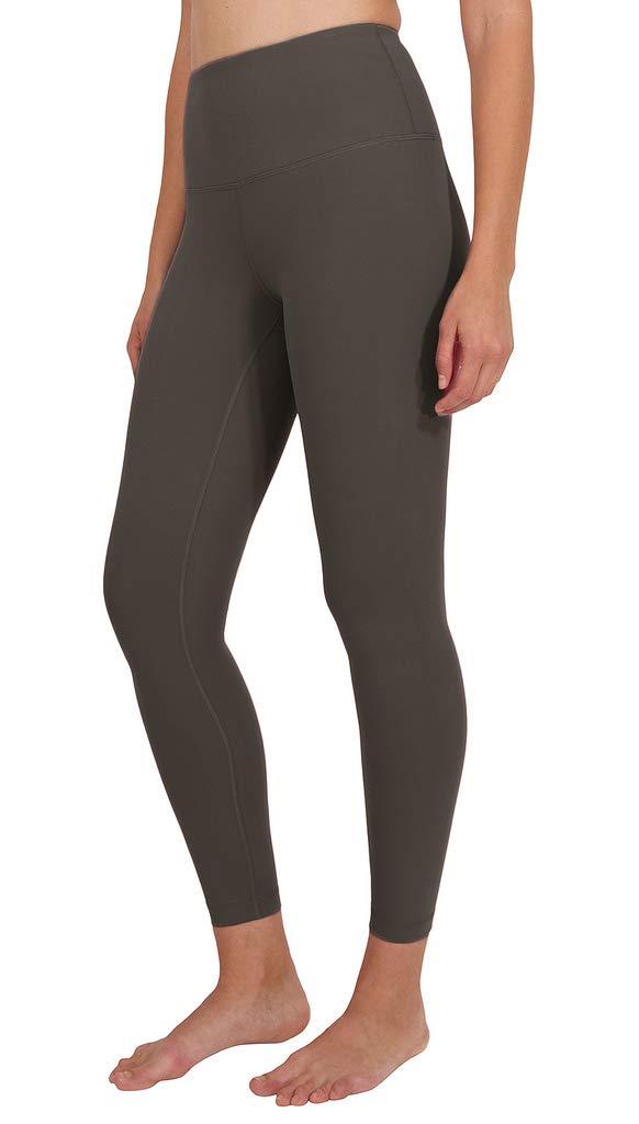 90 Degree By Reflex High Waist Power Flex Legging - Tummy Control - Castle Gate Ankle - XS
