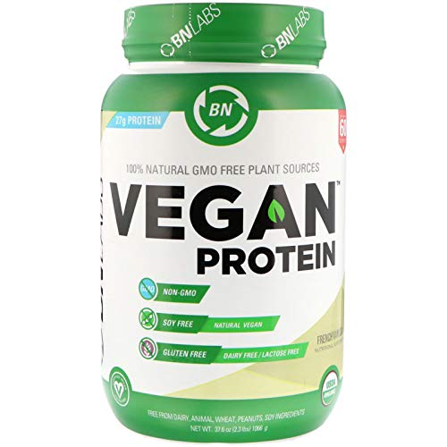 BN LABS Vegan Protein French Vanilla 2 3 lbs 1066 g
