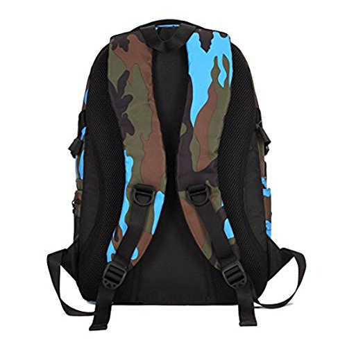 Camouflage Backpack, Large Capacity Water-Resistant Student Children School Bag by MATMO (Image #3)