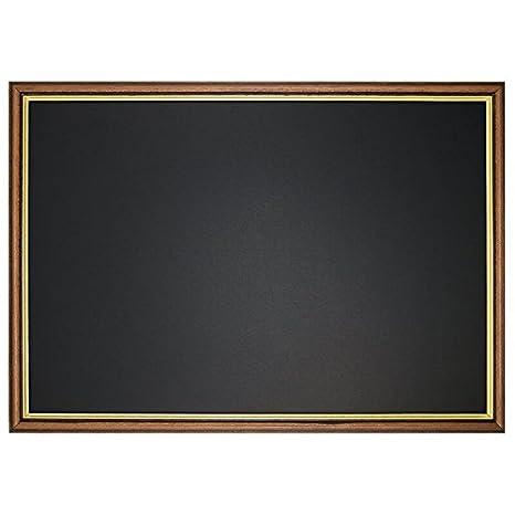 Pizarra Antiguo con marco barroco en oro, 100 x 50 cm ...