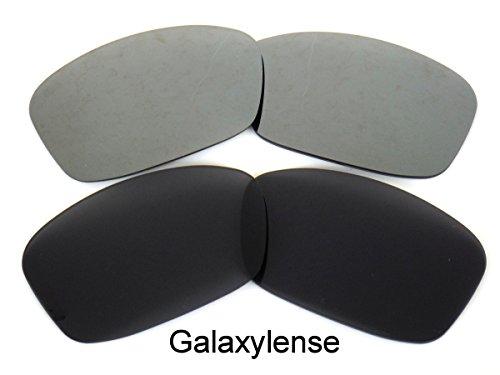 Noir Hijinx de pour Galaxylense Lentilles hommes Oakley rechange et Gris fRwf7q0