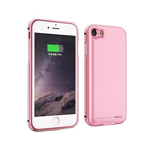 2800mah Power Case for iPhone 7 (Rose Gold) - 7