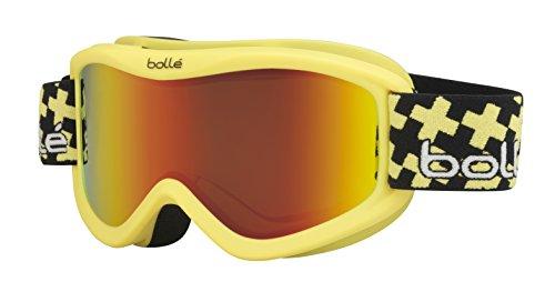 Bolle Volt Plus Goggles, Matte Yellow, Cross Sunrise Lens ()