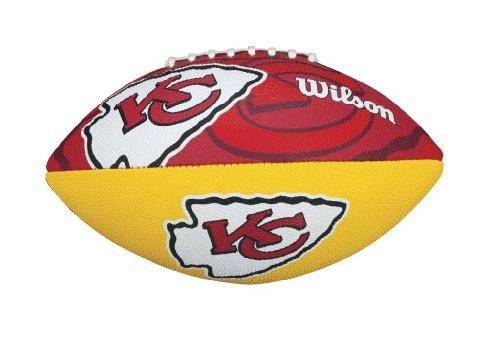 Wilson NFL Junior Team Logo Football (Kansas City Chiefs) (Kansas City Pro Football)
