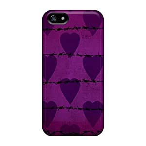 New Style PC For SamSung Galaxy S6 Phone Case Cover Protective - Barbwire I4 Purple