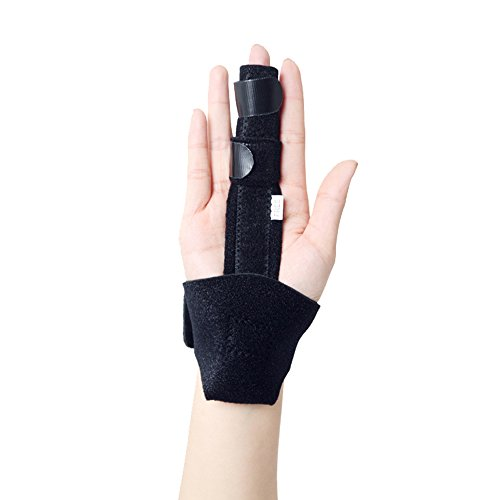 Finger Splint Support,XIIYY Trigger Finger Extension Splint for Trigger Finger, Mallet Finger, Finger Knuckle Immobilization, Pain Relief Stenosing Tenosynovitis, Tendon Release Pain Relief by XIIYY