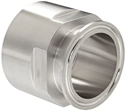 Dixon 22MP-G200 Stainless Steel 304 Sanitary Fitting, Clamp Adapter, 2\