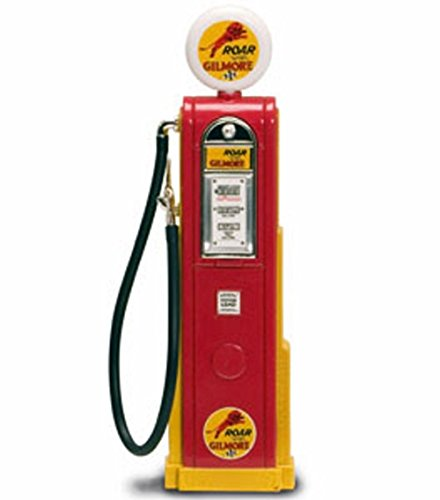 - Dollhouse Miniature Red Old-Fashioned Gilmore Gasoline Gas Pump