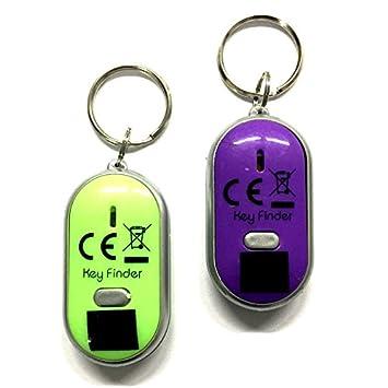 2x Schlüsselfinder Led-lampe Key Finder Schlüsselanhänger Schlüsselsucher