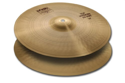 Paiste 2002 Classic Cymbal Medium Pair Hi-Hat 14-inch