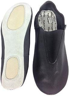 Tunturi Turn Shoes Chaussons de Gymnastique avec Semelle, Couleur Noire Taille 38, Lot de 2 Mixte Adulte, Black, 1 TUNTD|#Tunturi 14TUSTE135