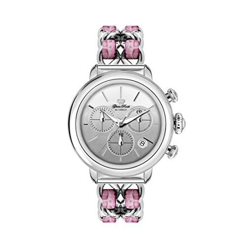 Glam Rock Women's Bal Harbour 40mm Multicolor Steel Bracelet & Case Swiss Quartz Analog Watch GR77129N
