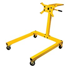 Performance Tool W41031 Engine Stand with Tray - 1,250 lb. Capacity