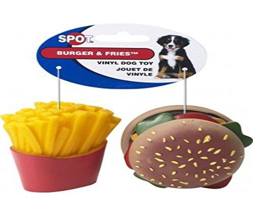 Ethical Pet Vinyl - Ethical Pet Products (Spot) Vinyl Burger & Fries 2 Pack