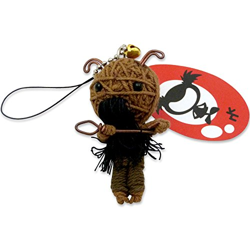 Adorable Capricorn Voodoo Luck Zodiac Doll KeyChain