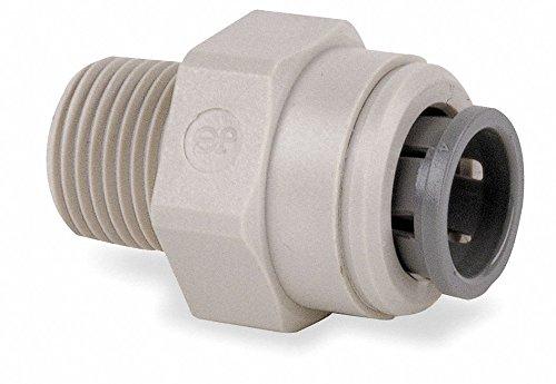 John Guest Acetal Copolymer Adapter, 5/8'' Tube Size - pkg. of 10