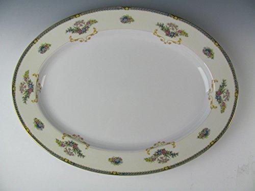 Noritake China ROMANCE-76835 Oval Serving Platter 16