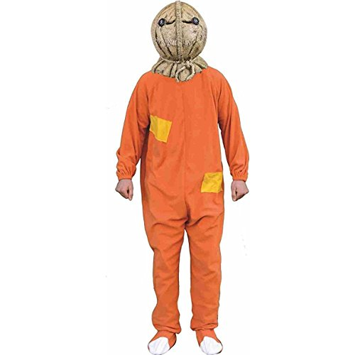 [Trick or Treat Studios Men's Trick R Treat-Sam Costume, Multi, One Size] (Sam Trick R Treat Costumes)