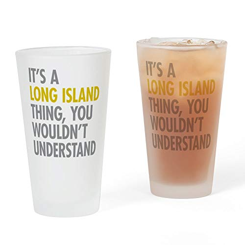 CafePress Long Island NY Thing Pint Glass, 16 oz. Drinking Glass -