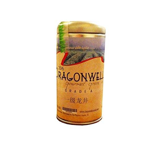 Dragonwell , Long JingGreen Tea Leaf, Grade A, Year 2018 crop, net weight 2 oz (56 g)