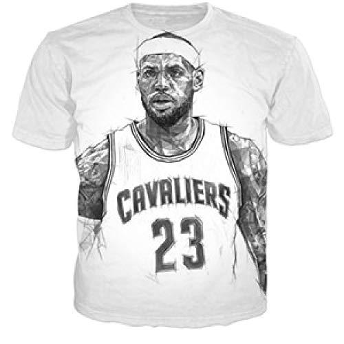 63367a2f2406 T-Shirts Star Lebron James 3D Print Fashion T Shirt Style Casual Tee Shirts