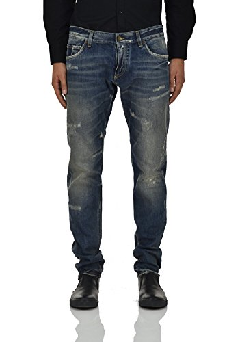 Dolce&Gabbana Gold Jeans Distressed - Assorted - And Men Gabbana For Jeans Dolce