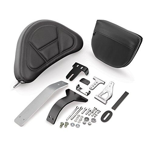 Show Chrome Accessories 52-797A Smart Mount Removable Backrest ()