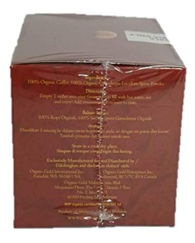 Organo Gold 5 Boxes Ganoderma Gourmet - Gourmet King Coffee (25 sachets) by Organo Gold (Image #3)