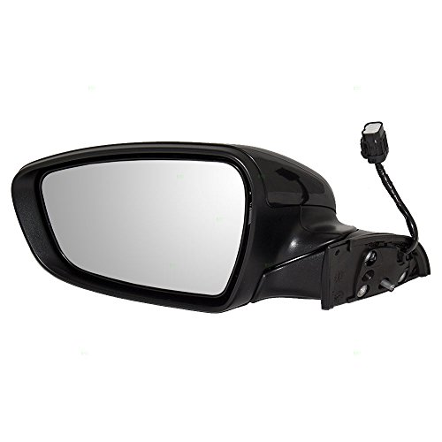 Drivers Power Side View Mirror Heated Ready-to-Paint Replacement for 14-16 Kia Forte & Forte5 87610A7200