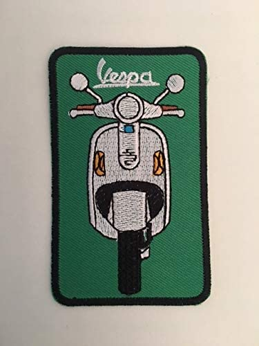 3,5 CM BLUE HAWAI ECUSSON Patches AUFNAHER Toppa THERMOCOLLANT Vespa EVIDE 11