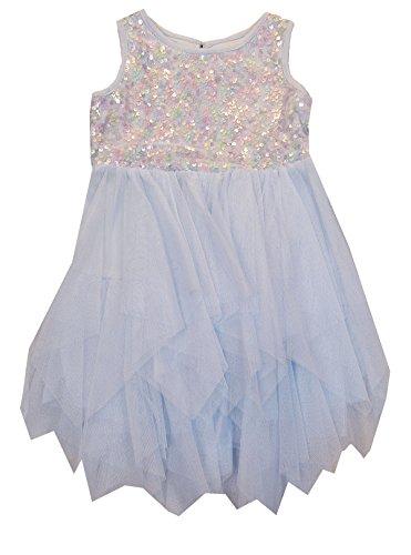 (Marmellata Little Girls; (2T-6X) Sequined Ballerina Snow Princess Dress 4T)