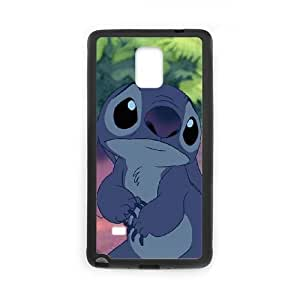 Samsung Galaxy Note 4 phone case Black Lilo And Stitch RRTY7522719