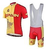 Uriah Men's Cycling Jersey Bib Shorts White Sets
