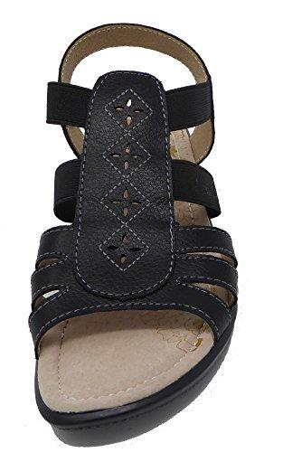 Noir Pour Coolers Femme Coolers Sandales Sandales qfawFCHOax