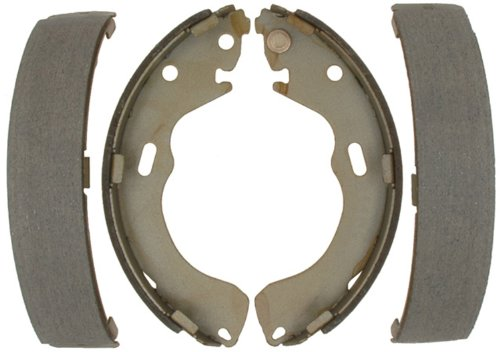 ACDelco 14760B Advantage Bonded Rear Brake Shoe Set ()
