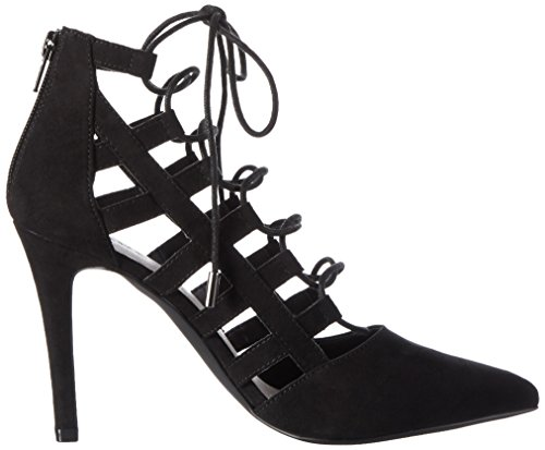 Bianco Laced Up Party Son16 - Tacones Mujer Negro