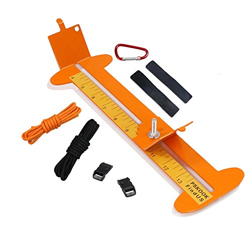 Paracord Jig Adjustable Length Paracord Jig Bracelet Maker Kit Metal Weaving DIY Craft Paracord Maker Tool 4 to 13 with Free Cord and Buckles