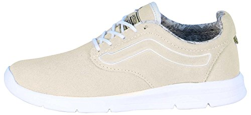 Vans Womens Iso 1.5 Low Top Lace Up Running Sneaker, Tan, Size 5.5 -