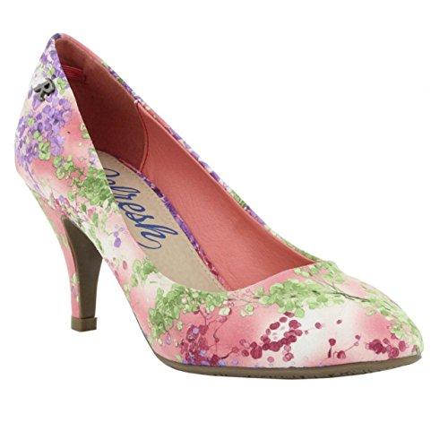 Schuhe ferse für Damen REFRESH 61749 TEXTIL NUDE