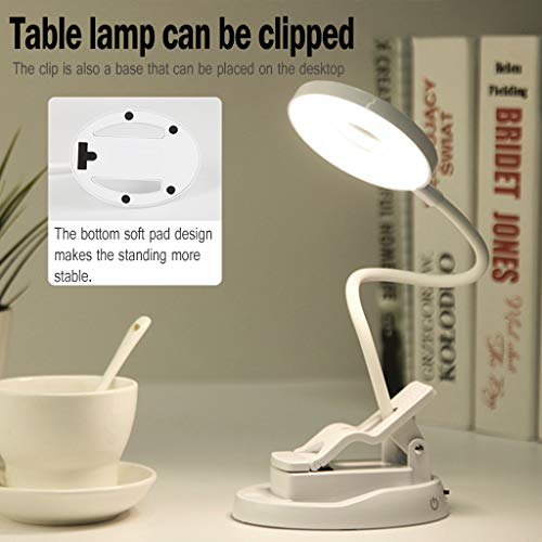 Price comparison product image Kariwell Table Lamp,  USB Remote Rechargeable Sensor LED Desk Eye Protection Table Reading Lamp