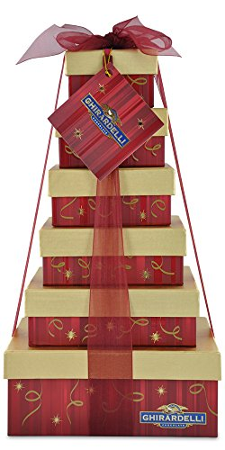 Ghirardelli Sentimental Chocolate Tower, 2.75 Pound Chocolate Usa Gift Tower