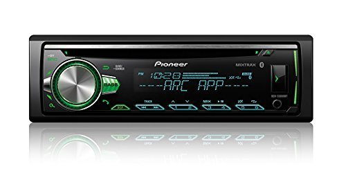 Pioneer DEH-S5000BT CD Receiver with Improved Pioneer ARC App Compatibility, MIXTRAX, Built-in Bluetooth, and Color ()