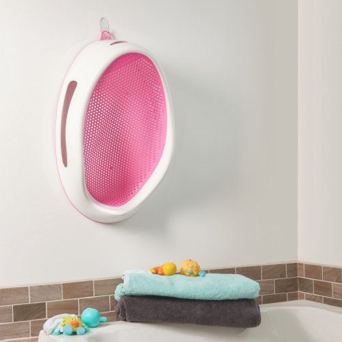 Angelcare Baby Bath Support Pink Import It All